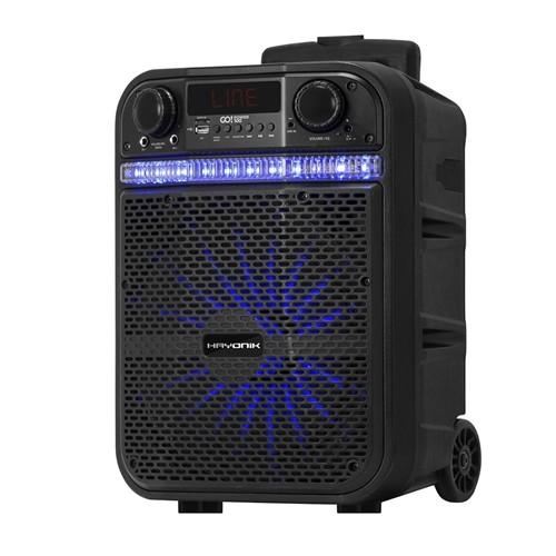Caixa Multiuso Ativa Portatil BLUETOOTH/MICROSD/USB/FM 80W Go!power 100 Hayonik