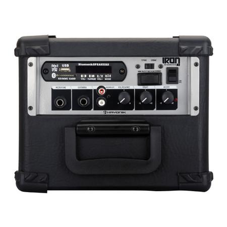 Caixa Multiuso Hayonik Iron 80 20w Rms Bluetooth USB/SD e Rádio FM c/Controle remoto