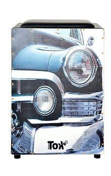 Cajon Elétrico Nobre Tok Com Bongô Old Car