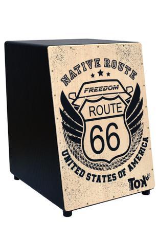 Cajon Nobre Tok Acústico Route 66 Modelo 306