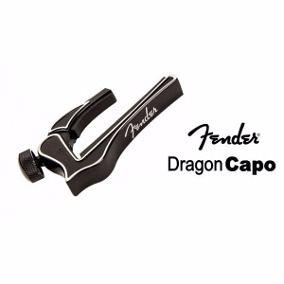Capotraste Fender Dragon Capo Preta