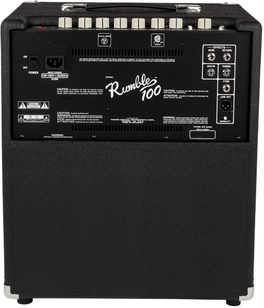 Combo Contrabaixo Fender Rumble 100 V 3
