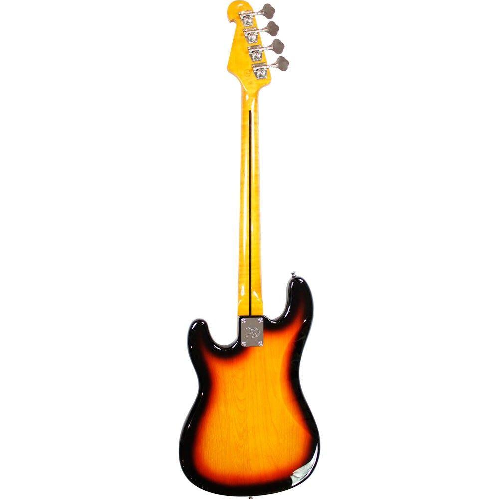 Contrabaixo Precision Bass SX SPB57+ Sunburst com Bag Luxo.