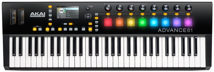 CONTROLADOR AKAI ADVANCED 61