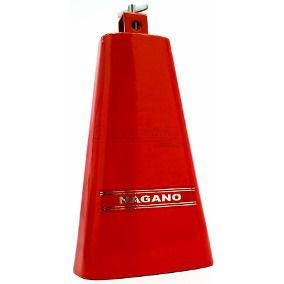 Cowbell Nagano Red Color De 7 Para Percussão Em Geral