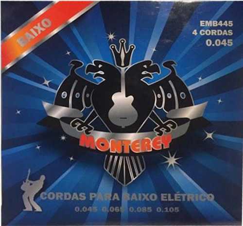ENCORDOAMENTO CONTRABAIXO MONTEREY 0.45 4 CORDAS