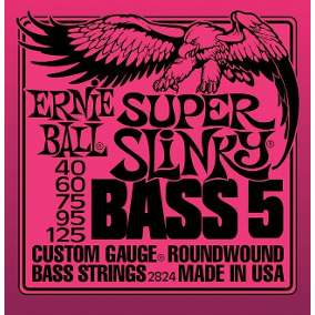 Encordoamento Ernie Ball 0.40 5 cordas