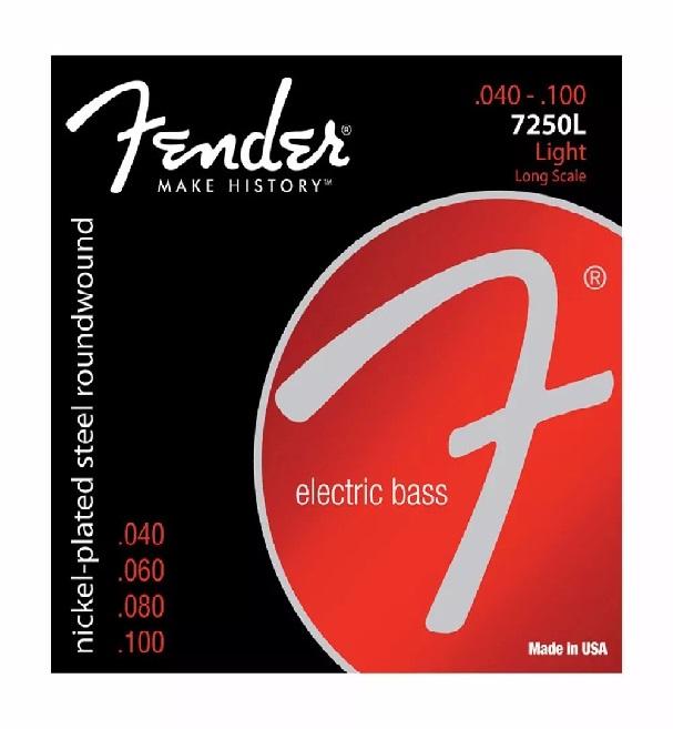 Encordoamento Fender Para Contrabaixo 0.40 4 Cordas