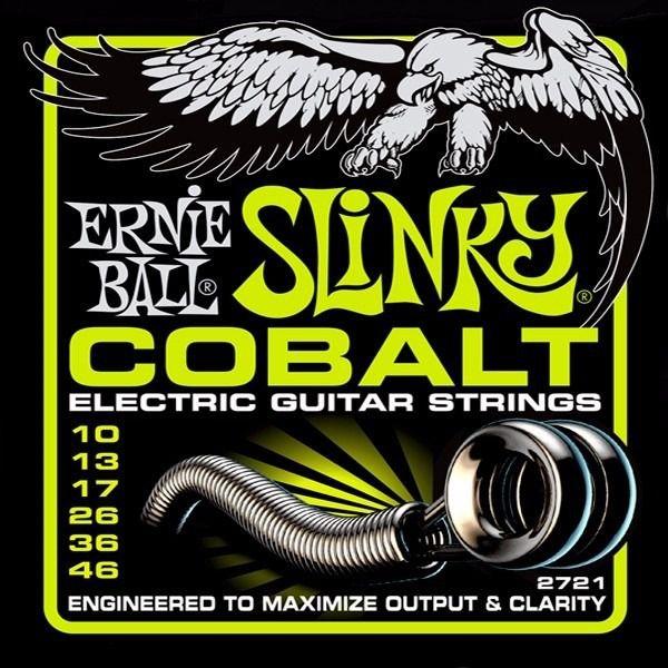 Encordoamento Guitarra Ernie Ball Cobalt Slinky 010 046