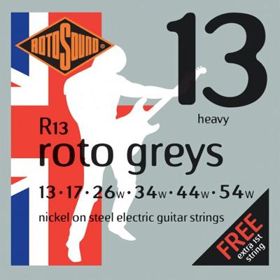 Encordoamento Guitarra Rotosound Roto Greys - R13