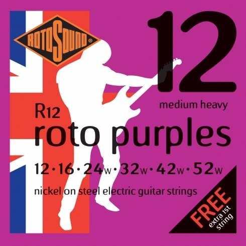 Encordoamento Guitarra Rotosound Roto Purples - R12