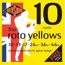 Encordoamento Guitarra Rotosound Roto Yellows - R10