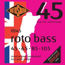 ENCORDOAMENTO PARA BAIXO ROTOSOUND ROTOBASS 45 4 CORDAS
