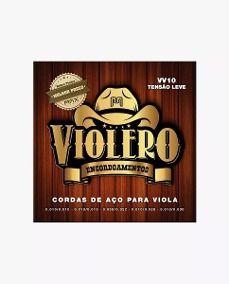 Encordoamento Para Viola Max Music Violero Tensão Leve W10