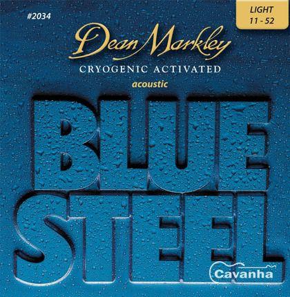 Encordoamento Violão Blue Steel, Light 0.11- 2034 Dean Markley