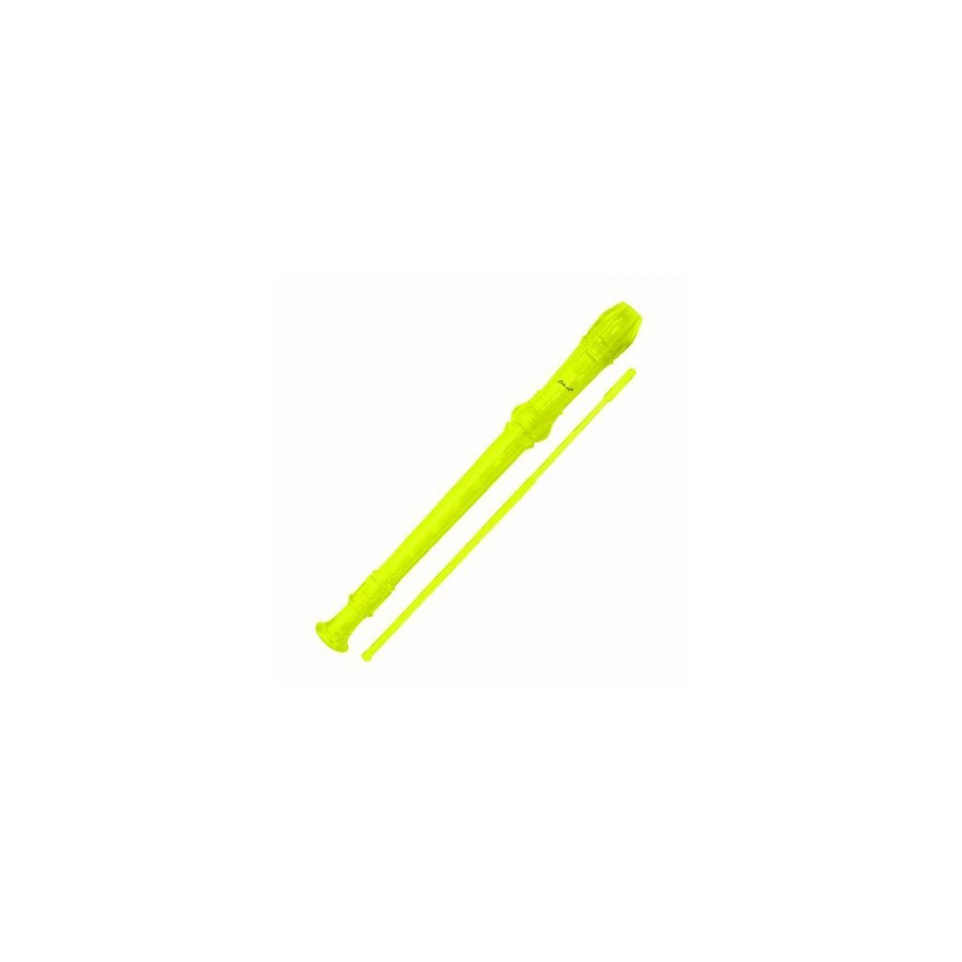 Flauta Germânica Concert TRC57G - Amarela