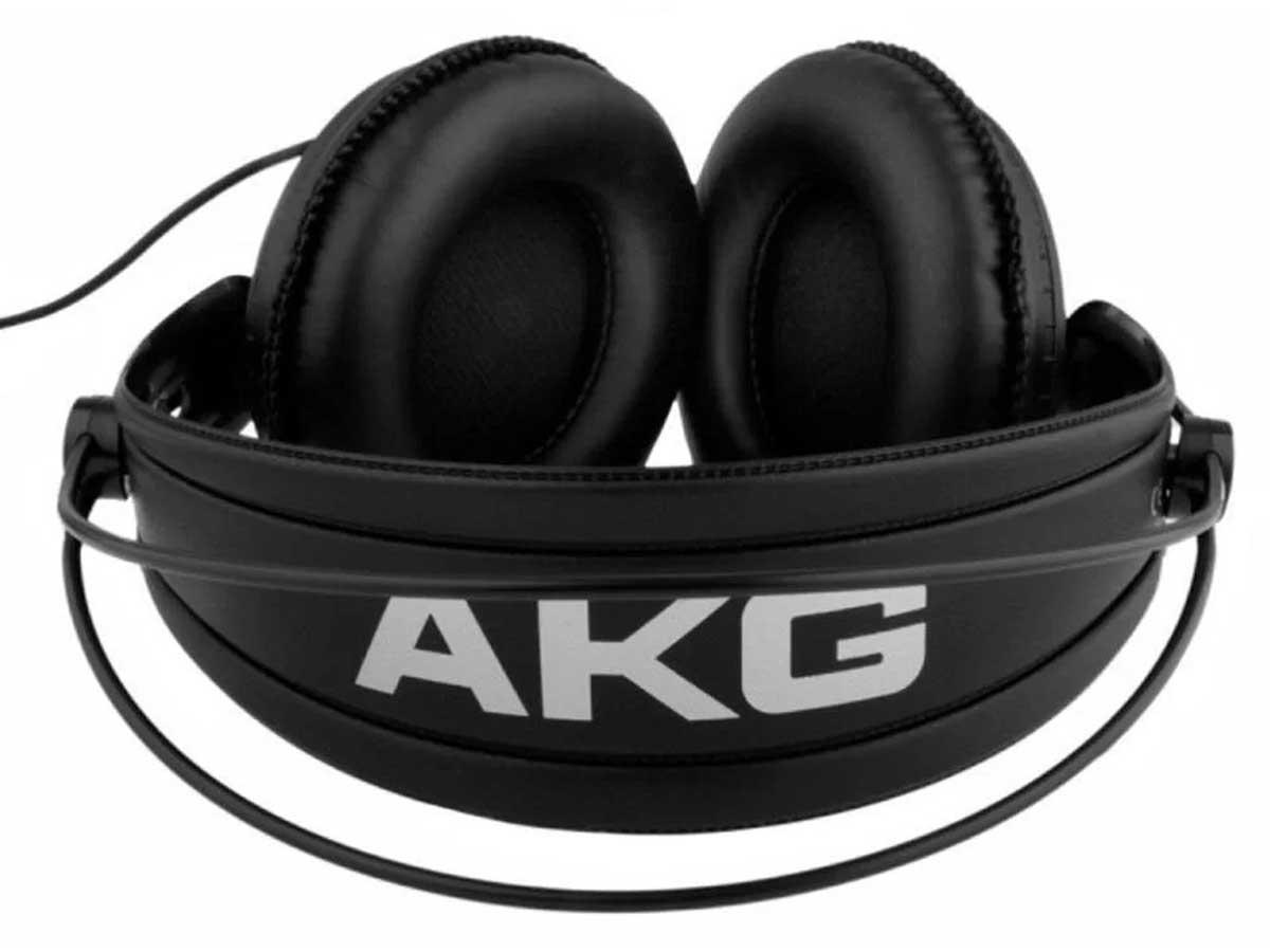 Fone de ouvido Akg K240 MkII profissional de estúdio semi aberto Over Ear