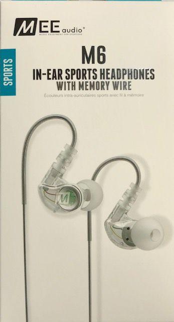 Fone de Ouvido In-Ear Mee Audio Sport-Fi M6