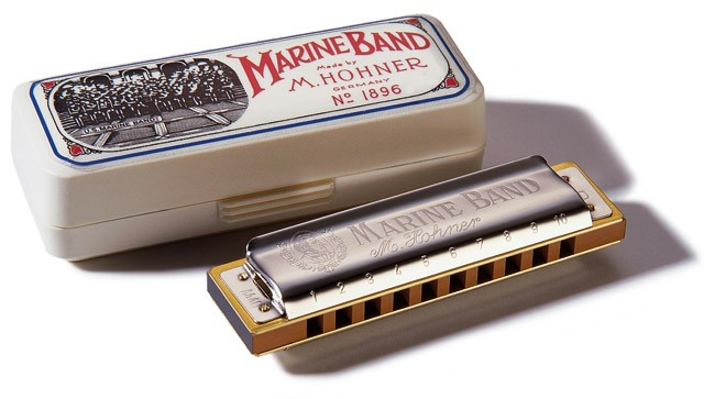 Gaita Marine Band 1896/20 (A)- HOHNER