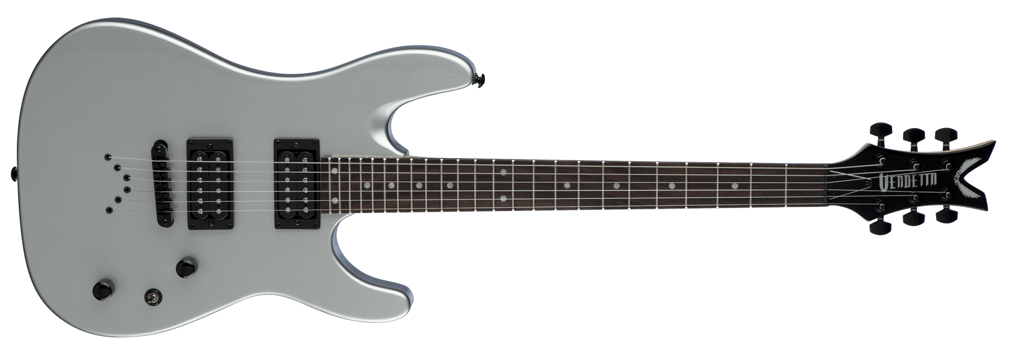 Guitarra Dean Vendetta Xm Metallic Silver