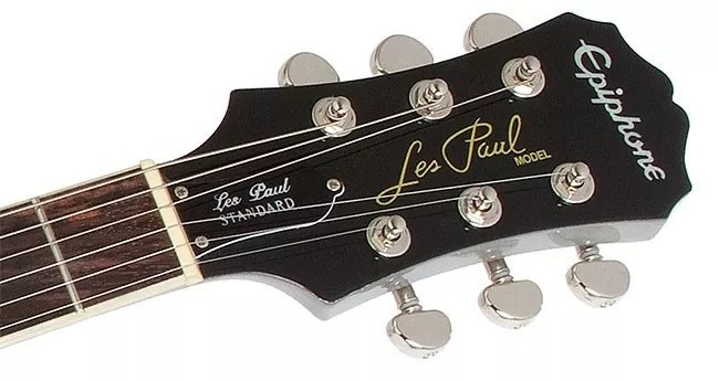 Guitarra Epiphone Les Paul Standard Limited Edition Tvsilver