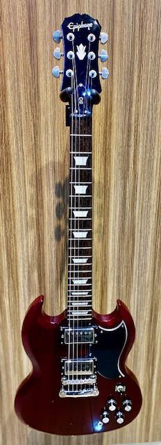 GUITARRA EPIPHONE SG G400 CHERRY (SEMI-NOVA)