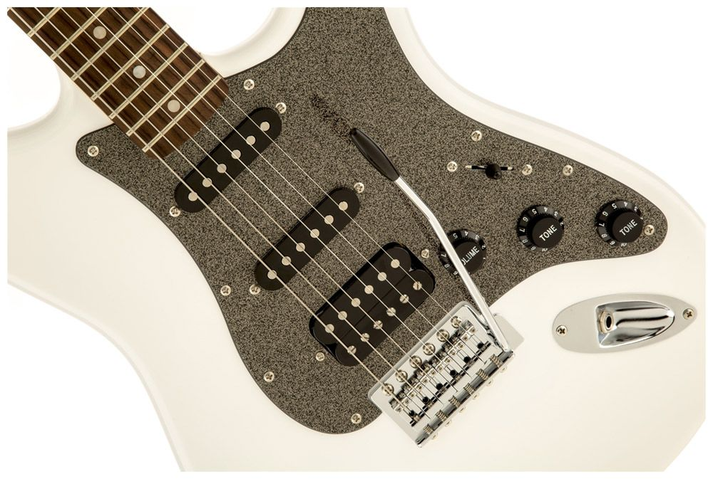 GUITARRA FENDER - SQUIER AFFINITY STRATOCASTER HSS - 505 - OLYMPIC WHITE MOSTRUÁRIO