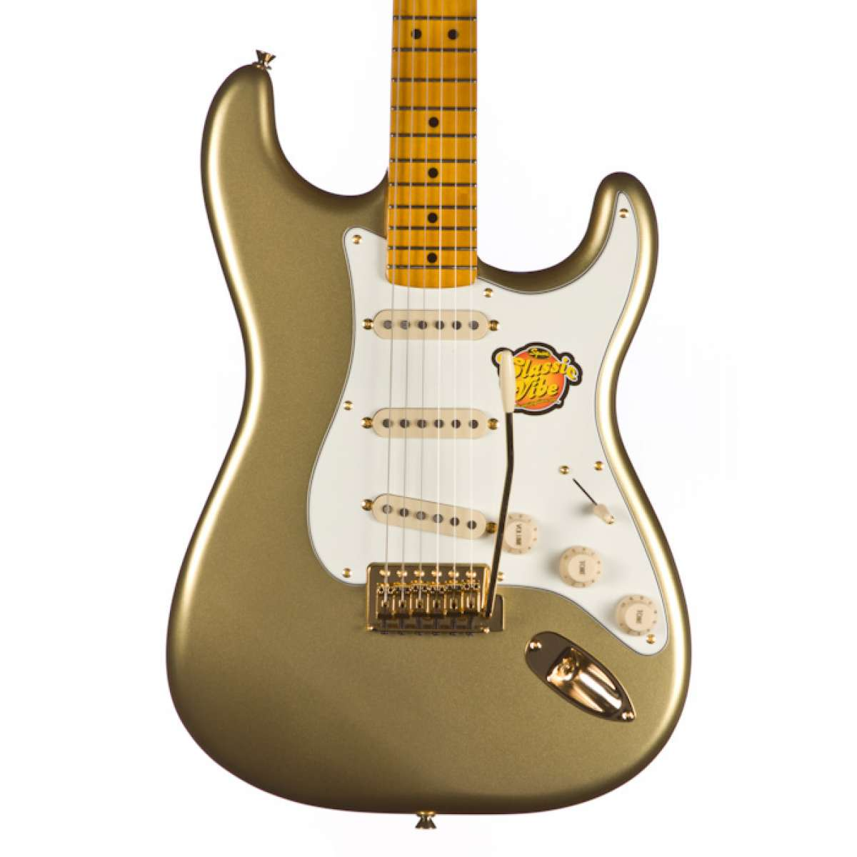Guitarra Fender Squier Classic Vibe Strato 60TH Anniversary AZTEC Gold + Gig Bag Fender Squier.