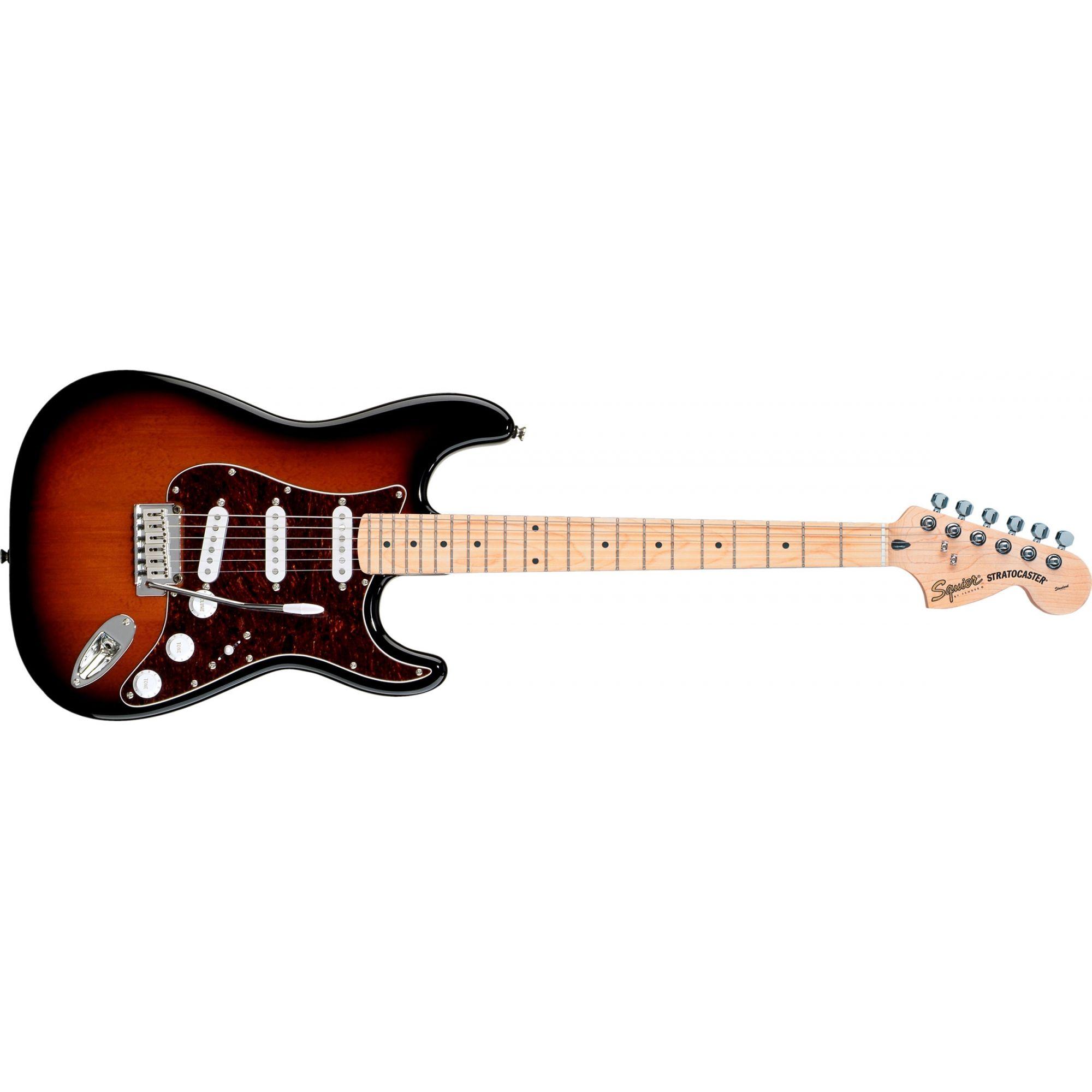 Guitarra Fender Squier Strato 537 Antique Burst