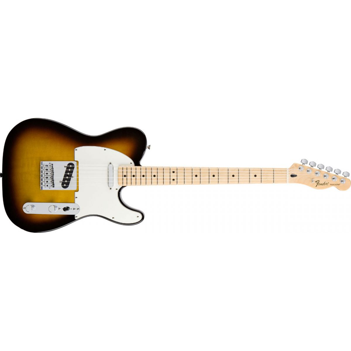 GUITARRA FENDER STANDARD TELECASTER BROWN SUNBURST