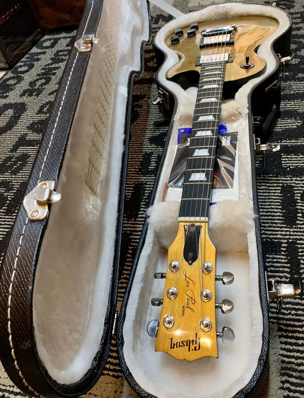 """Guitarra Gibson Les Paul Studio Swirl Gold """"Edição Limitada"""""""