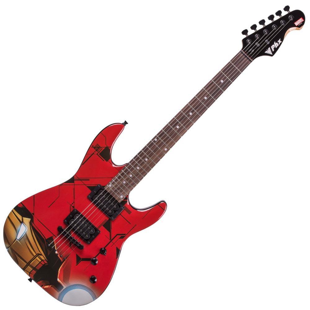 Guitarra Phx Homem De Ferro Gmi-1 Marvel