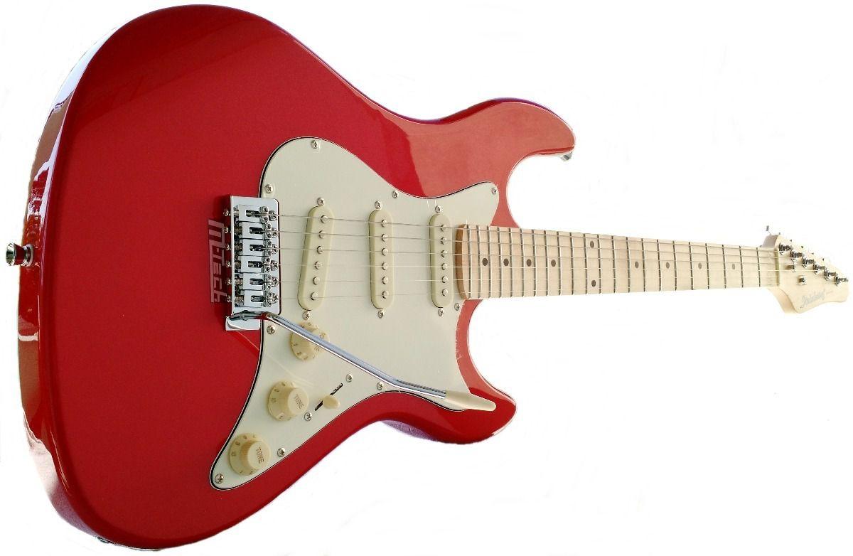 Guitarra Strato Strinberg STS-100 MWR Vermelha