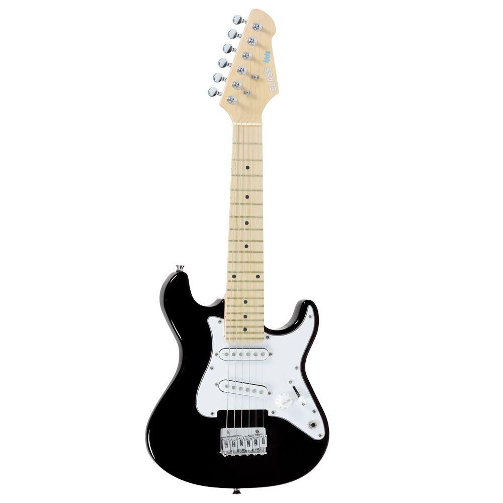 Guitarra Stratocaster Infantil Class CLK10 Bk Preta
