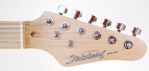 Guitarra Strinberg Stratocaster STS-100 Preta