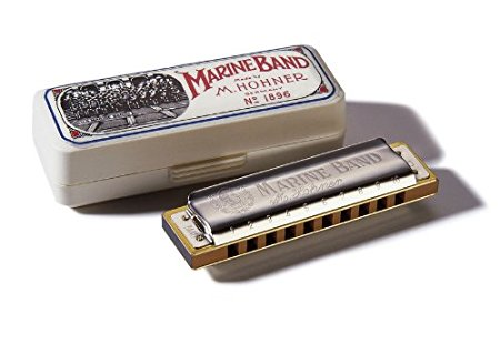 Harmônica Marine Band 1896/20 A (A)- Hohner