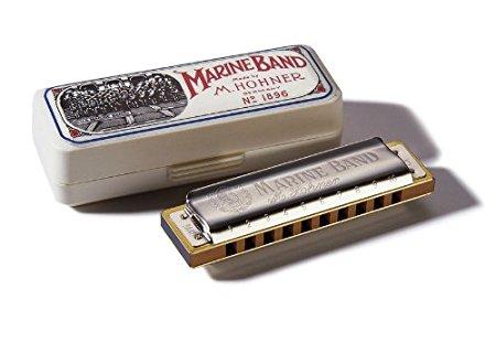 Harmônica Marine Band 1896/20 C (dó)- Hohner