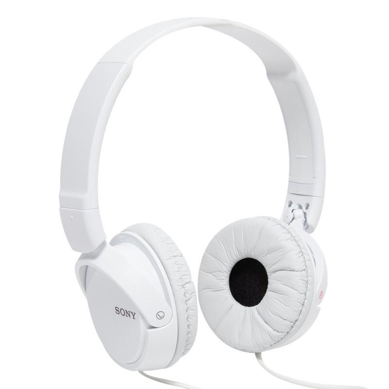 Headphone Sony MDR-ZX110 Branco - Dobrável