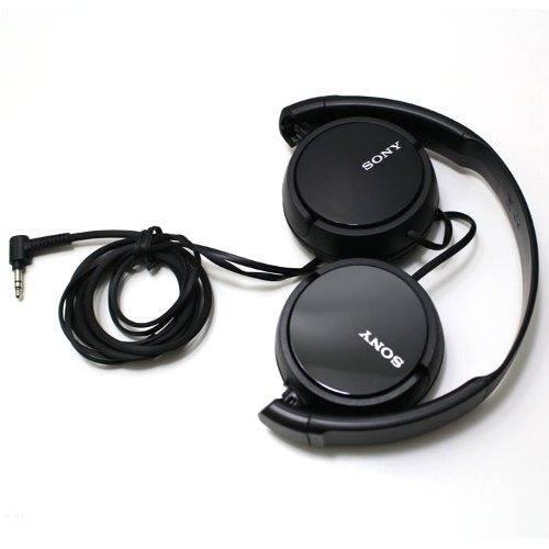 Headphone Sony MDR-ZX110 Preto Dobrável