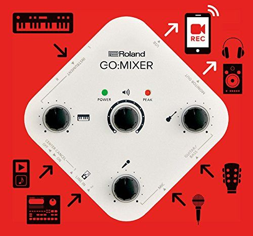 Interface Para Smartphone Roland - Go Mixer