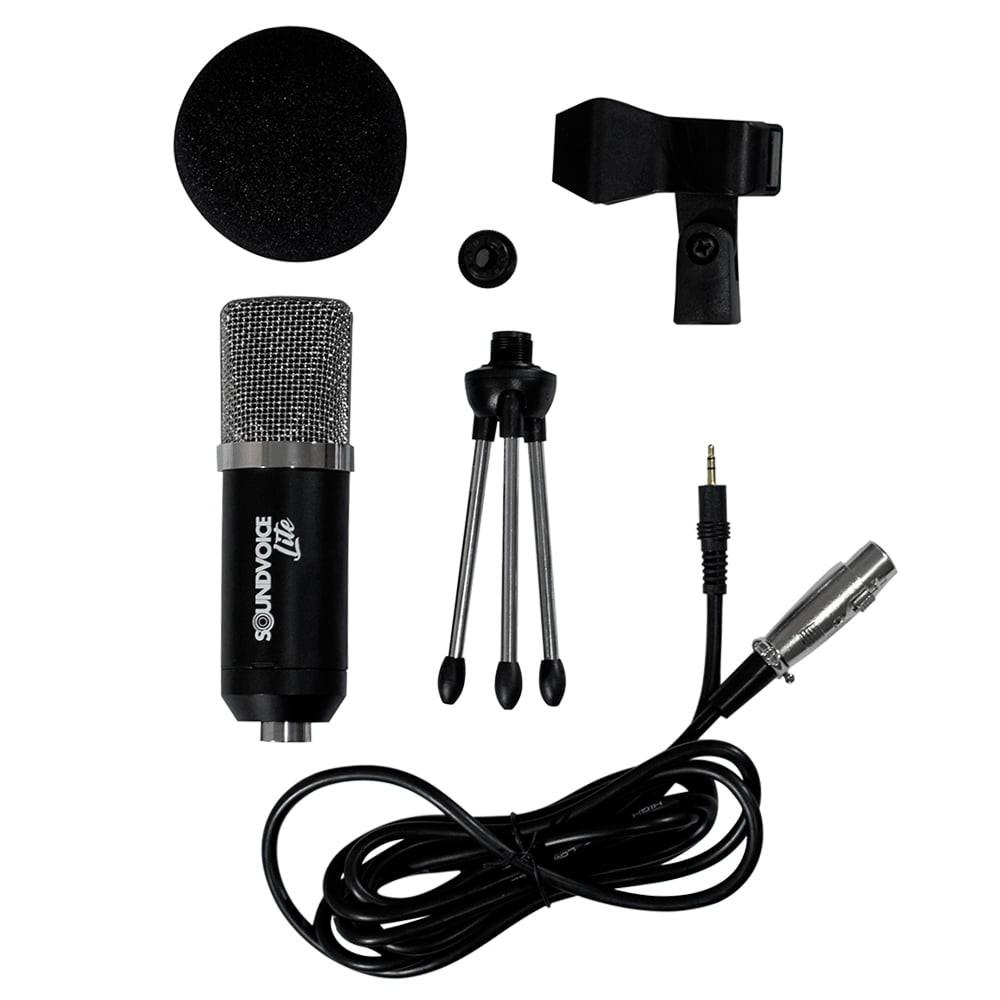 Kit Soundvoice Condensador Soundcasting-800