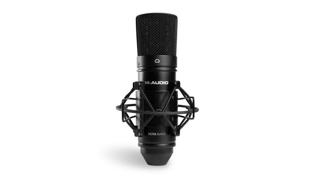 Kit de Gravação Interface Mtrack 2x2 M-audio Com Fone e Microfone