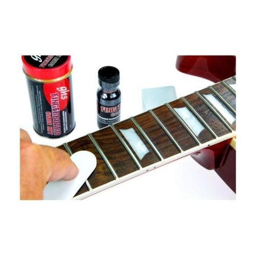 Kit de Limpeza GHS Fingerboard Care A77 para Trastes e Escala
