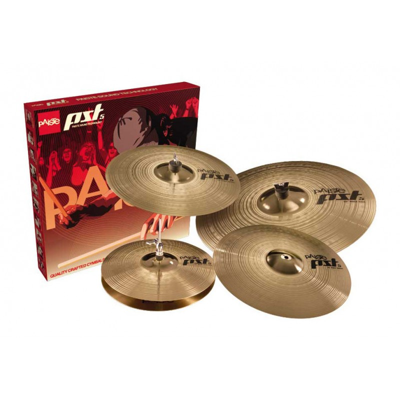 KIT DE PRATOS PAISTE PST5 14/16/18/20