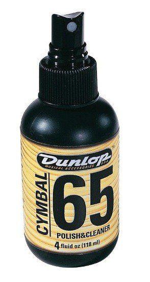 Limpador Spray Dunlop F65 Para Pratos De Bateria