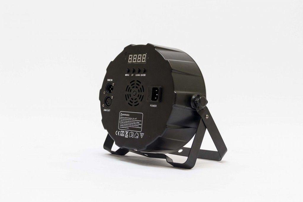 Mega Par 54rgbw - Led 5w 8 Canais Dmx - Bi-volt - Pls