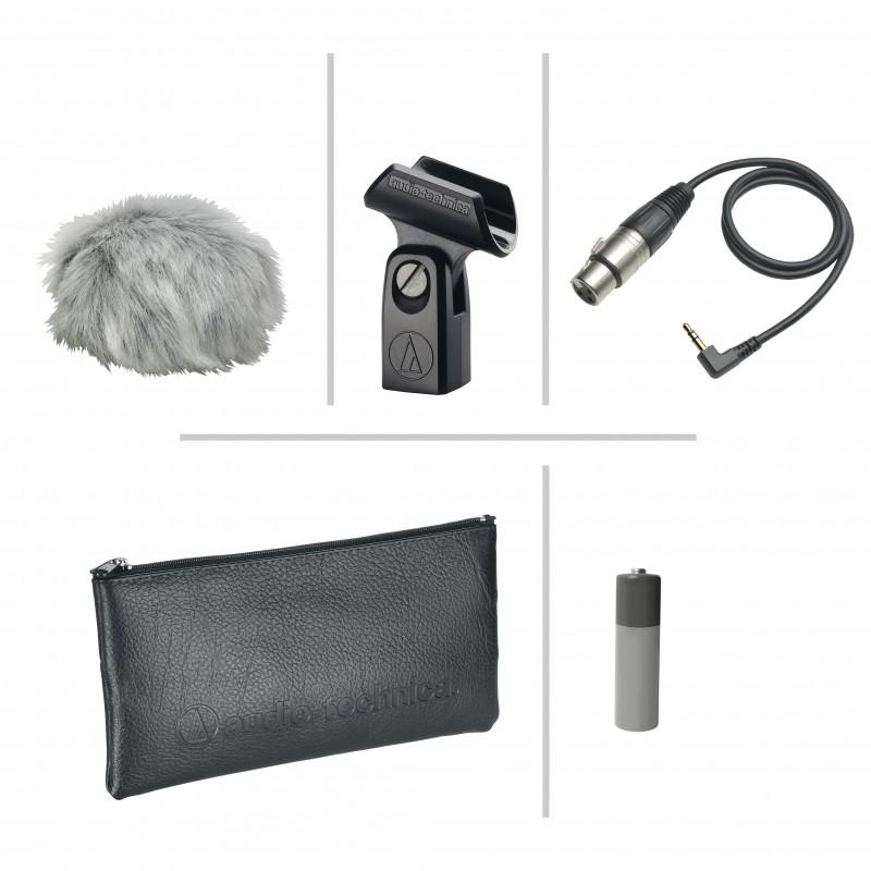 Microfone Condensador Audio-thecnica At2022estéreo X/y