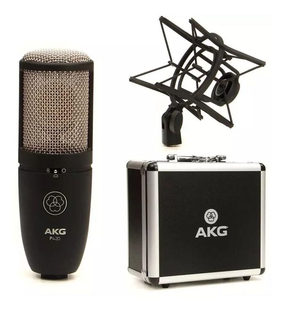 Microfone Condensador Profissional  Perception Akg P420