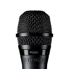 Microfone De Instrumento Dinâmico Cardioide PGA-57 XLR - Shure