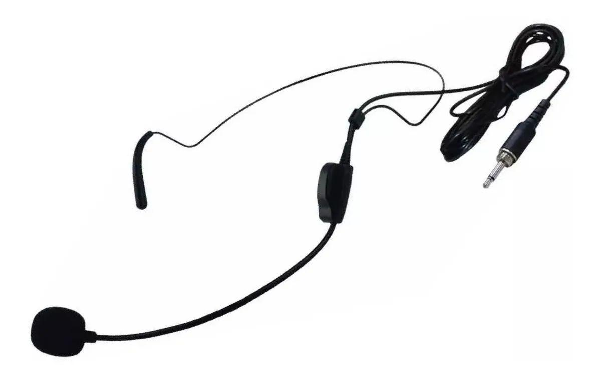 Microfone Headset Karsect HT9 P2 Com Rosca